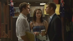 Kyle Canning, Kate Ramsay, Mark Brennan in Neighbours Episode 6148