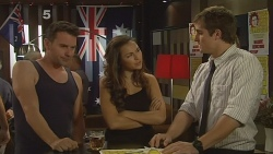 Lucas Fitzgerald, Jade Mitchell, Kyle Canning in Neighbours Episode 6148