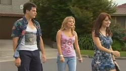 Chris Pappas, Natasha Williams, Summer Hoyland in Neighbours Episode 6148