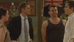 Kate Ramsay, Mark Brennan, Lucas Fitzgerald, Kyle Canning in Neighbours Episode 6148