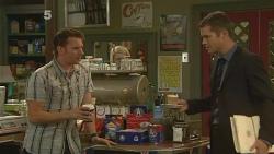 Lucas Fitzgerald, Mark Brennan in Neighbours Episode 6149