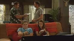 Toadie Rebecchi, Lucas Fitzgerald, Callum Jones, Sophie Ramsay in Neighbours Episode 6149