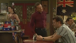 Kate Ramsay, Paul Robinson, Lucas Fitzgerald in Neighbours Episode 6149