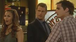 Jade Mitchell, Mark Brennan, Kyle Canning in Neighbours Episode 6149
