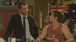Mark Brennan, Kyle Canning in Neighbours Episode 6150