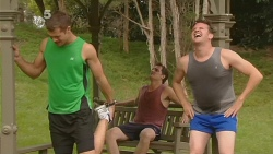 Mark Brennan, Kyle Canning, Lucas Fitzgerald in Neighbours Episode 6152