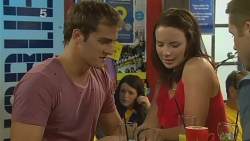 Kyle Canning, Kate Ramsay, Mark Brennan in Neighbours Episode 6153
