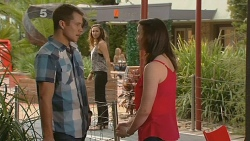 Mark Brennan, Jade Mitchell, Kate Ramsay in Neighbours Episode 6153