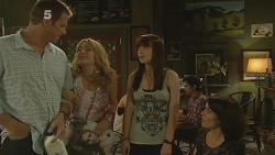 Michael Williams, Natasha Williams, Summer Hoyland, Libby Kennedy in Neighbours Episode 6154