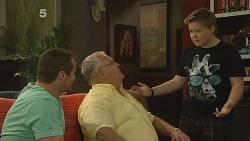 Toadie Rebecchi, Harold Bishop, Callum Jones in Neighbours Episode 6156