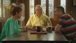 Susan Kennedy, Harold Bishop, Karl Kennedy in Neighbours Episode 6156