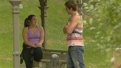 Hannah Bence, Kyle Canning in Neighbours Episode 6156