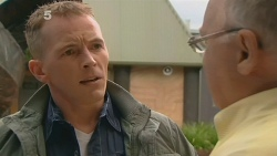 Captain Troy Miller, Harold Bishop in Neighbours Episode 6157