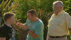Callum Jones, Toadie Rebecchi, Harold Bishop in Neighbours Episode 6157