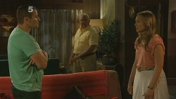 Toadie Rebecchi, Harold Bishop, Sonya Mitchell in Neighbours Episode 6158