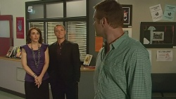 Libby Kennedy, Paul Robinson, Michael Williams in Neighbours Episode 6159