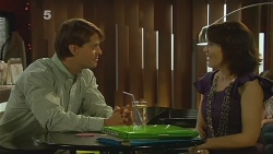 Dr Jonathan Swan, Libby Kennedy in Neighbours Episode 6160
