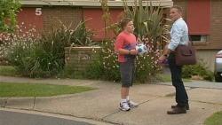 Callum Jones, Captain Troy Miller in Neighbours Episode 6161