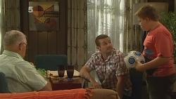 Harold Bishop, Toadie Rebecchi, Callum Jones in Neighbours Episode 6161
