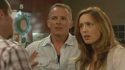 Toadie Rebecchi, Captain Troy Miller, Sonya Mitchell in Neighbours Episode 6161