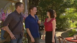Michael Williams, Lucas Fitzgerald, Libby Kennedy in Neighbours Episode 6163