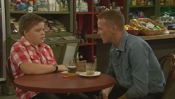 Callum Jones, Captain Troy Miller in Neighbours Episode 6165