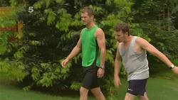 Mark Brennan, Lucas Fitzgerald in Neighbours Episode 6165