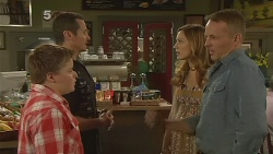 Callum Jones, Toadie Rebecchi, Sonya Mitchell, Captain Troy Miller in Neighbours Episode 6165