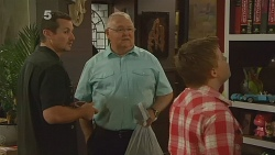 Toadie Rebecchi, Harold Bishop, Callum Jones in Neighbours Episode 6165