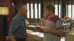 Captain Troy Miller, Rob Younger in Neighbours Episode 6165