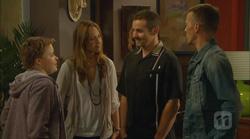 Callum Jones, Sonya Mitchell, Toadie Rebecchi, Captain Troy Miller in Neighbours Episode 6166