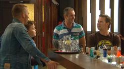 Captain Troy Miller, Callum Jones, Karl Kennedy, Lucas Fitzgerald in Neighbours Episode 6166