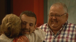 Carolyn Johnston, Toadie Rebecchi, Harold Bishop in Neighbours Episode 6168