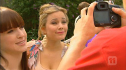 Summer Hoyland, Natasha Williams, Chris Pappas in Neighbours Episode 6168
