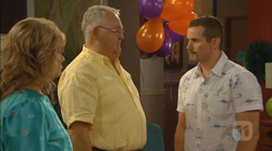 Carolyn Johnston, Harold Bishop, Toadie Rebecchi in Neighbours Episode 6168