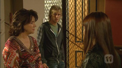 Lyn Scully, Andrew Robinson, Summer Hoyland in Neighbours Episode 6169