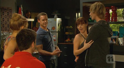 Natasha Williams, Chris Pappas, Paul Robinson, Summer Hoyland, Andrew Robinson in Neighbours Episode 6169