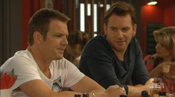 Michael Williams, Lucas Fitzgerald in Neighbours Episode 6169