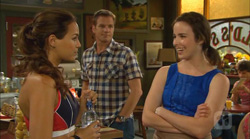 Jade Mitchell, Michael Williams, Kate Ramsay in Neighbours Episode 6170