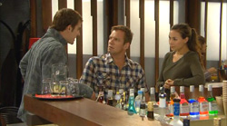 Kyle Canning, Michael Williams, Jade Mitchell in Neighbours Episode 6170