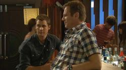 Mark Brennan, Michael Williams in Neighbours Episode 6170