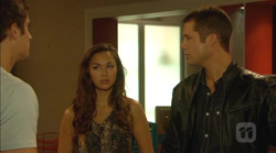 Kyle Canning, Jade Mitchell, Mark Brennan in Neighbours Episode 6170