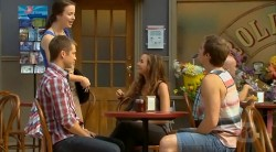 Mark Brennan, Kate Ramsay, Jade Mitchell, Kyle Canning in Neighbours Episode 6171