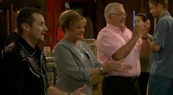 Toadie Rebecchi, Carolyn Johnston, Harold Bishop in Neighbours Episode 6172