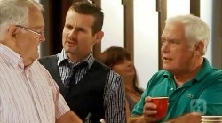 Harold Bishop, Toadie Rebecchi, Lou Carpenter in Neighbours Episode 6173