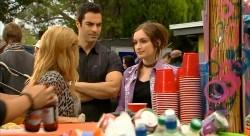 Natasha Williams, Ivan DeMarco , Bethany Peters in Neighbours Episode 6174