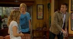 Natasha Williams, Andrew Robinson, Michael Williams in Neighbours Episode 6175