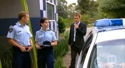 Policeman, Policewoman, Mark Brennan in Neighbours Episode 6175