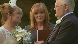 Carolyn Johnston, Celebrant , Harold Bishop in Neighbours Episode 6176