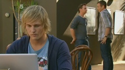 Andrew Robinson, Lucas Fitzgerald, Michael Williams in Neighbours Episode 6178